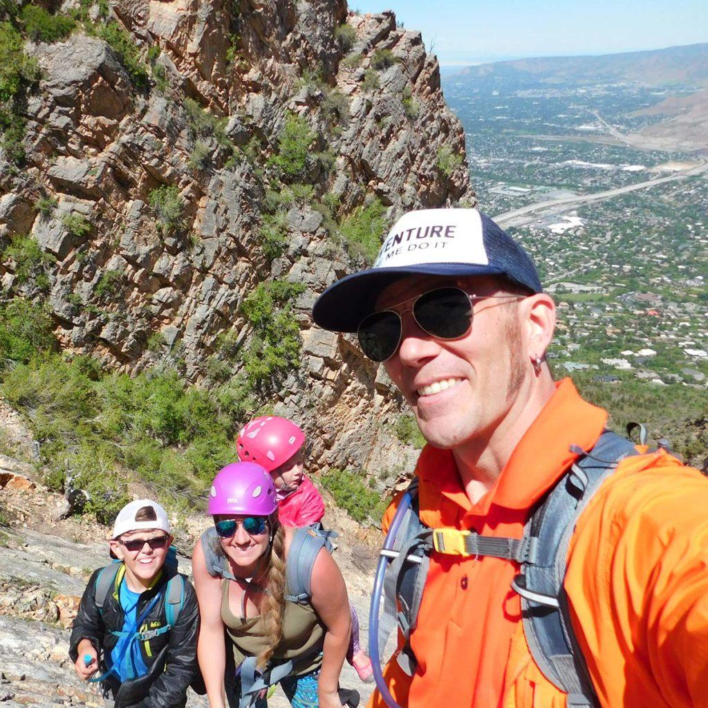 Raising Rockclimbers Tiny Big Adventure